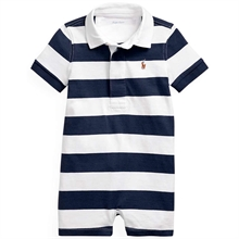 Ralph Lauren Baby Boy Shortall Polo French Navy