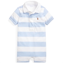 Ralph Lauren Baby Boy Shortall Polo Light Blue