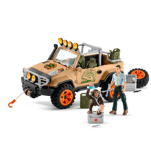 Schleich Wild Life 4x4 Vehicle with Winch
