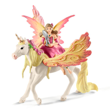 Schleich Bayaia Fairy Feya with Pegasus Unicorn