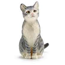Schleich Farm World Cat Sitting