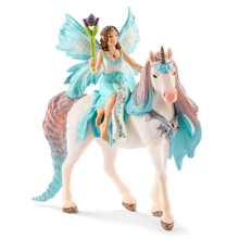Schleich Bayaia Fairy Eyela with Princess Unicorn