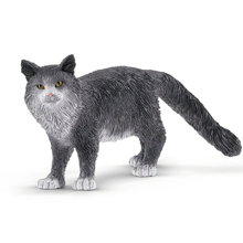 Schleich Farm World Maine Coon Cat