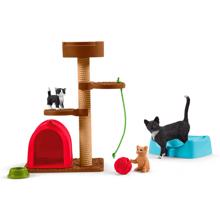 Schleich Farm World Playtime for Cute Cats