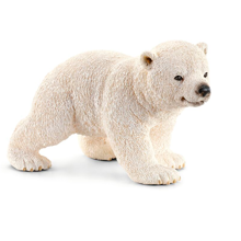Schleich Wild Life Polar Bear Cub Walking