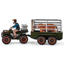 Schleich Wild Life Quad Bike with Trailer and Ranger