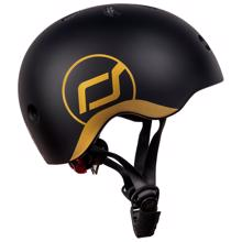 Scoot and Ride Safety Helmet Black/Gold