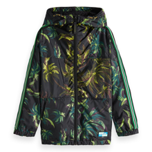 Scotch & Soda Allover Printed Nylon Jacket