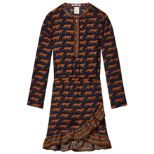 scotchandsoda-dress-kjole-moenster-print-snowleopard-navy-blaa