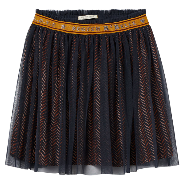 Scotch & Soda Printed Tulle Skirt Combo E
