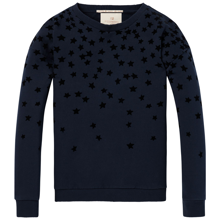 Scotch & Soda Star Appliqué Sweater Night