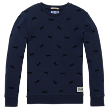 Scotch & Soda Flock Print Sweater Combo A