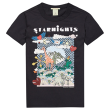 Scotch & Soda Cotton Artwork T-shirt Antra