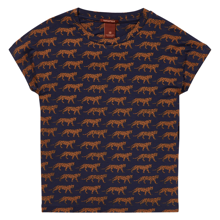 Scotch & Soda Snow Leopard Print T-shirt Combo I