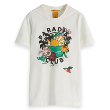 Scotch & Soda Colorfull Artwork T-shirt