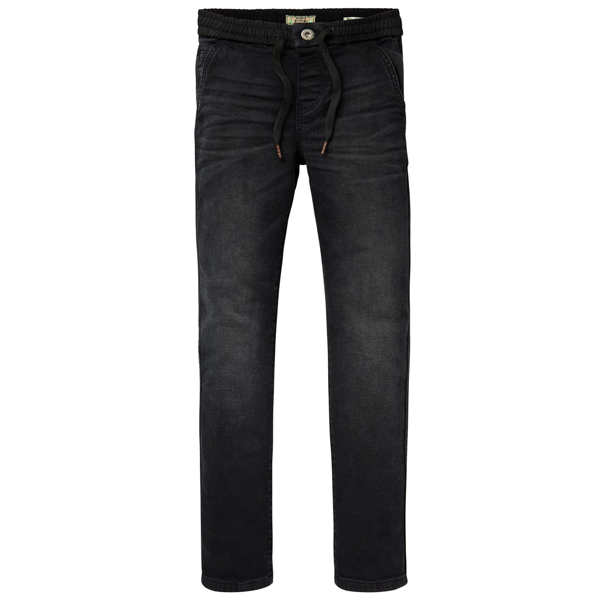 Scotch & Soda Washed Trousers Relaxed Slim Fit Antra