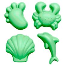 Scrunch Moulds  Pastel Green