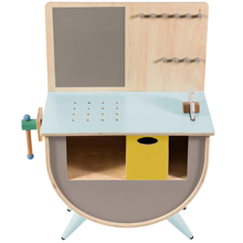 Sebra Tool Bench Warm Grey