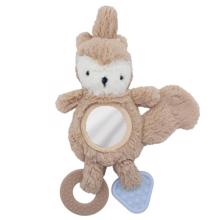 Sebra Activity Toy Squirrel Birchbark