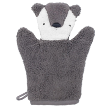 Sebra Terry Bear Bath Glove Puppet