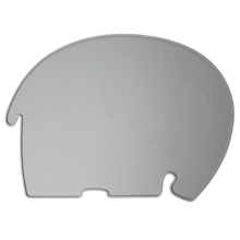 Sebra Placemat Elephant Midnight Grey