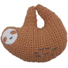 Sebra Knitted Rattle Sloth