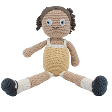Sebra Knitted Doll Anna