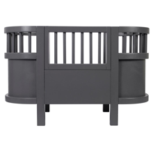 Sebra Doll Bed Dark Grey