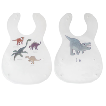 Sebra Bib Dino Set of 2