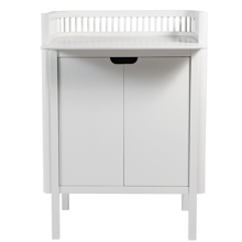 Sebra Changing Table White