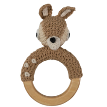 Sebra Knitted Rattle Deer