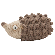 Sebra Knitted Rattle Hedgehog