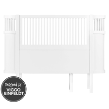Sebra Bed Baby & Junior White