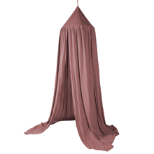 Sebra Bed Canopy Midnight Plum