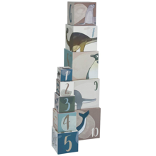 Sebra Stacking Cubes Dino/Arctic Animals
