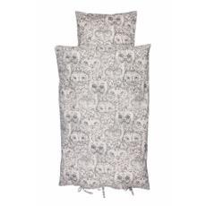 Soft Gallery Owl Bed Linen (cream)