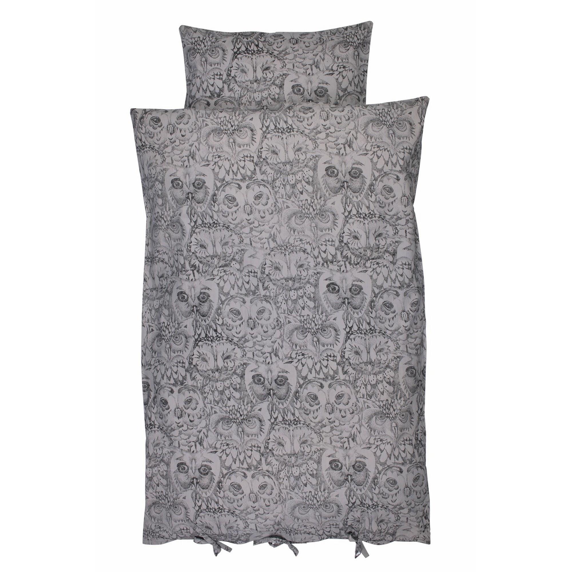 soft gallery sengetøj Soft Gallery Owl Bed Linen (drizzle) soft gallery sengetøj