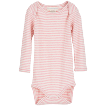 Serendipity Baby Rib Stripe Body Blush Rose/Offwhite