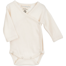 Serendipity Baby Rib Stripe Pre Wrap Body Blush Wheat/Offwhite