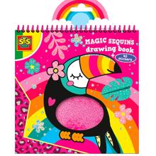 SES Creative Magic Sequins Coloring Book