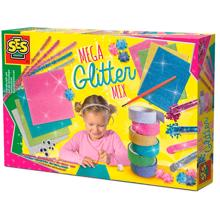 SES Creative Mega Glitter Hand Craft Set