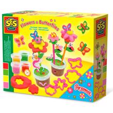 SES Creative Clay Flowers & Butterflies