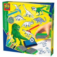 SES Creative Stamps - Dinosaurs