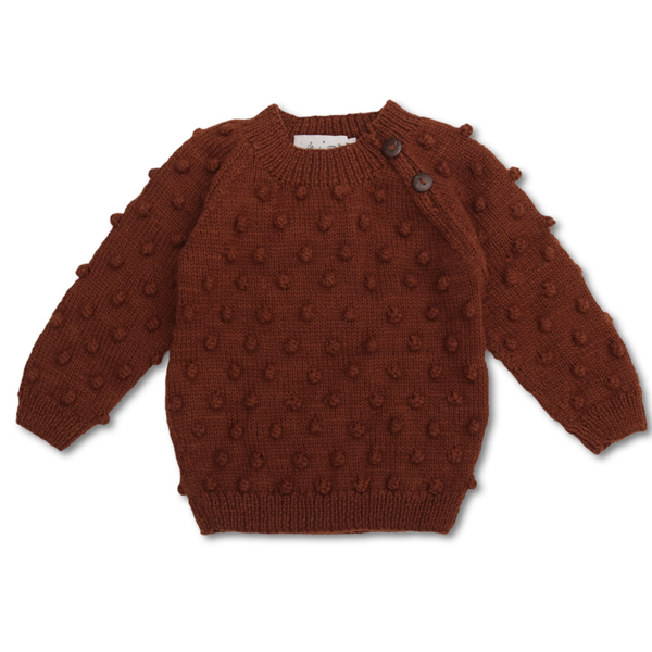 Shirley Bredal Bubble Sweater Rust