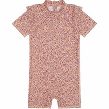 Soft Gallery Misty Rose AOP Flower Swim Filly Sunsuit