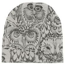 Soft Gallery Drizzle Owl Beanie