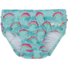 Soft Gallery Baby Rainbow Blue Tint Mina Swim Pants