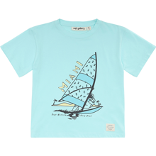 Soft Gallery Miami Blue Tint Asger T-shirt