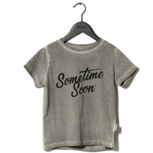 Sometime Soon Sometime T-shirt Grey Melange