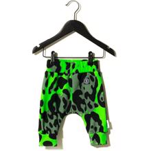 Sometime Soon Magnet Pants Bright Green AOP